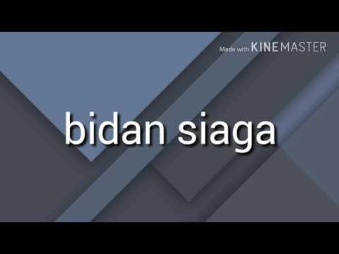 Bidan Siaga (lirik)