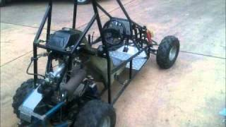 Homemade 250cc buggy - The Build.wmv