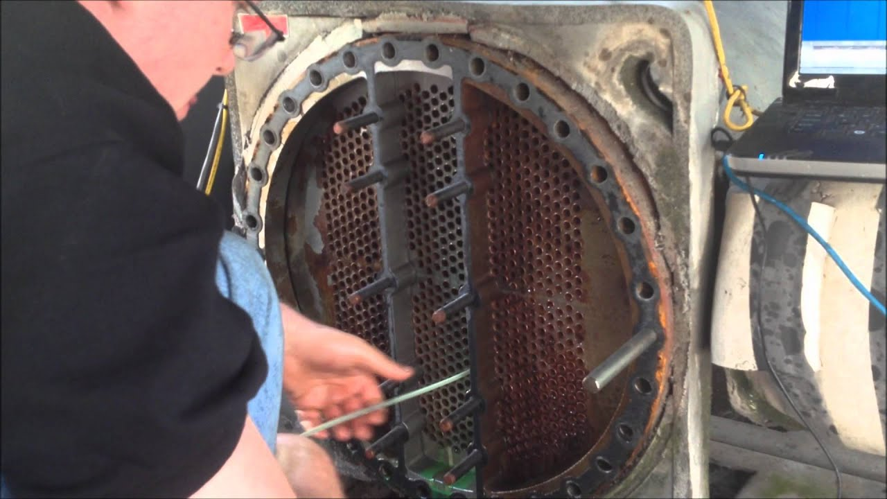 Eddy Current Inspection Of Carrier Chiller Youtube