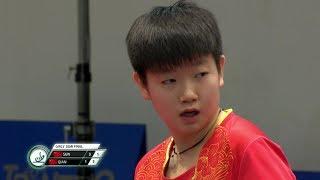 2017世界ジュニア卓球選手権 女子シングルス準決勝 孫穎莎vs銭天一