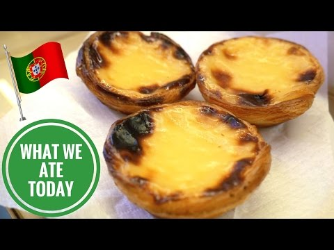 Portugal Food Feast, Custard Tarts Galore! (Day 2) | Food Diaries: What We Ate Today - Yum It