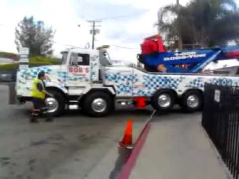 Worlds largest rotator tow truck