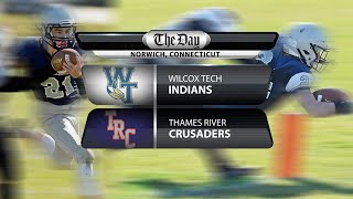 Wilcox Tech at Thames River football
