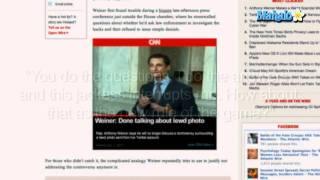 Anthony Weiner Makes Twitter Scandal Worse