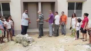 Brand New Homes for Yolanda Victims - Child and World Cebu Empower Inc. and Gawad Kalinga