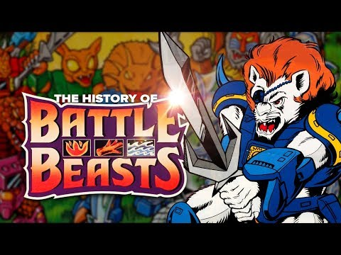 The History of Battle Beasts: Fire! Water! Wood! Conspiracy! Updated