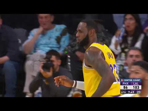 Los Angeles Lakers Vs Phoenix Suns | February 10, 2020