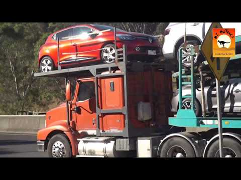 Australian Trucks on the Melbourne to Adelaide National Highway!