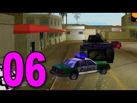 Grand Theft Auto: Vice City - Part 6 - STOLE A TANK LOL