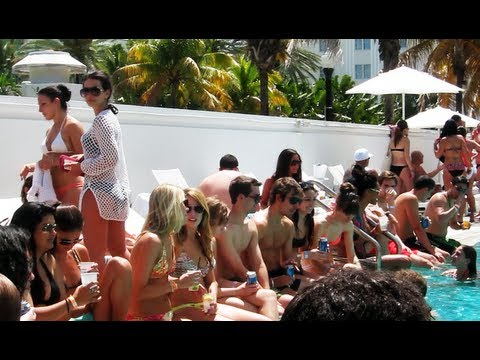 RX Pool Party at the Shelborne Hotel in South Beach, Miami