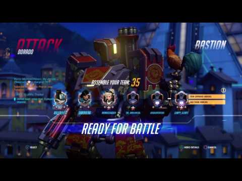 Overwatch: Playing comp with a great team #2