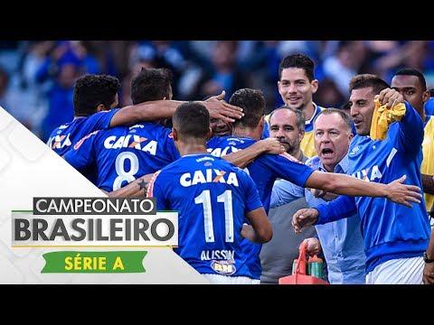 Melhores Momentos - Gols de Cruzeiro 3 x 1 Palmeiras - Campeonato Brasileiro (09/07/2017)