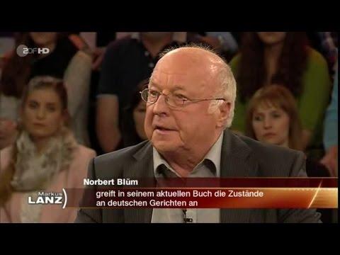 """EINSPRUCH: Norbert Blüms heftige Kritik an der dt. Justiz [""""LANZ"""" am 23.10.2014]"""