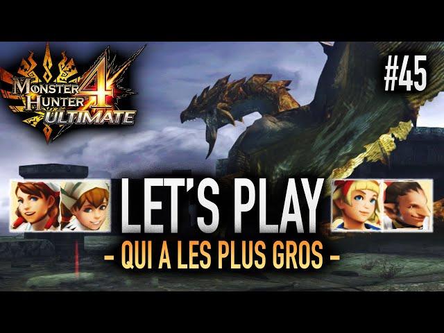 QUAND LE CHAOS PRENDRA D'ASSAUT LES CIEUX... - #45 Let's Play MH4U HD