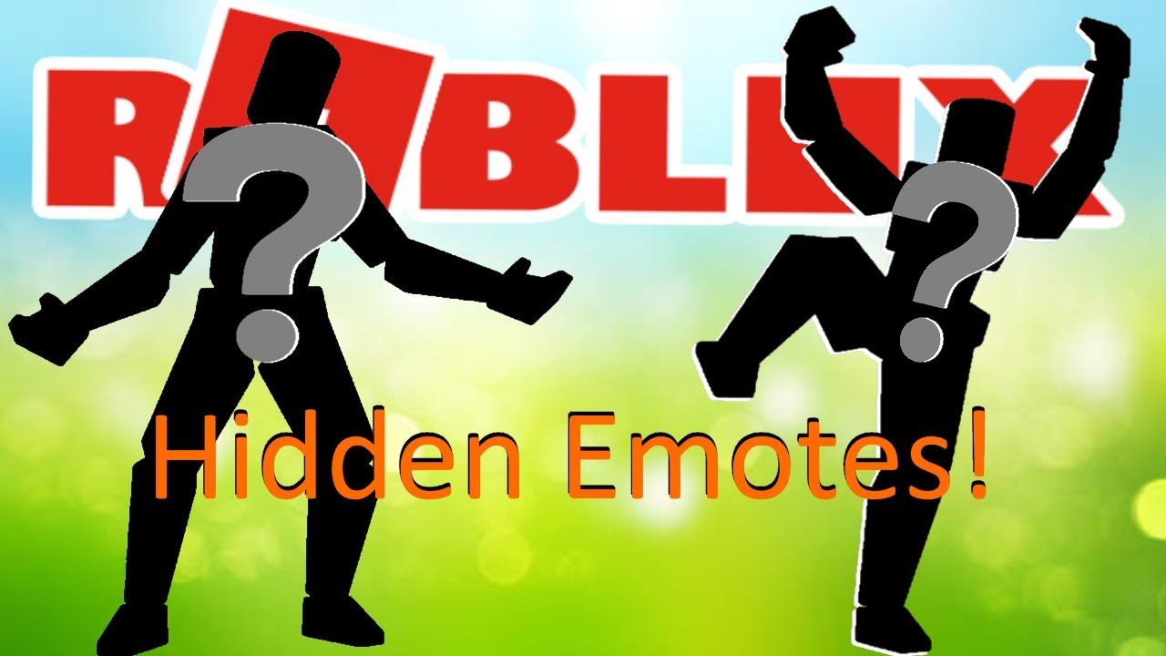 Roblox added Hidden Emotes to Rthro packages? - YouTube