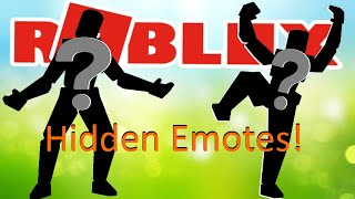 Roblox added Hidden Emotes to Rthro packages?
