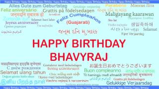Bhavyraj   Languages Idiomas - Happy Birthday