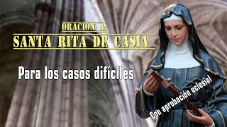 Tienes Causas Imposibles? Has La Oración A Santa Rita De Casia