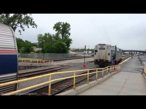 Amtrak #63: P32 to P42 Diesel Locomotive Swap at Rensselaer, NY RR