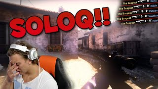 JAG KOMMER DERANKA?! - ROAD TO GLOBAL #12 (CSGO Matchmaking)