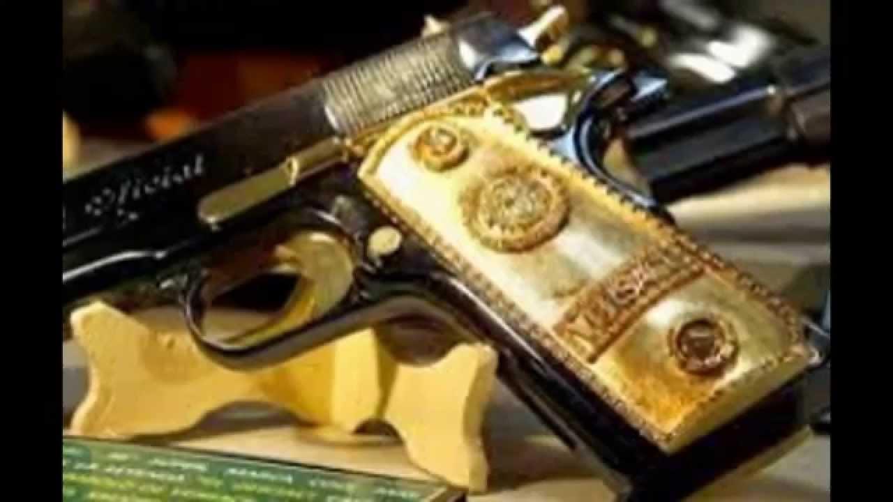 Las armas mas lujosas del mundo youtube - Pistola para lacar ...