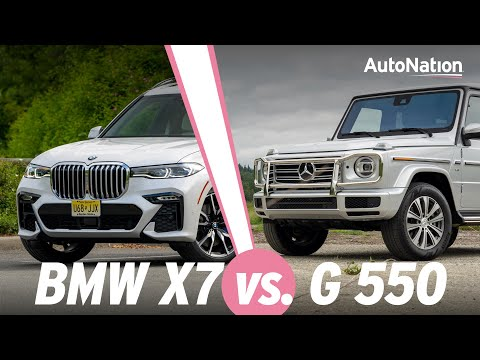 2020 Mercedes G550 Vs 2020 BMW X7 - Which Is Best? #AutoNationDrive