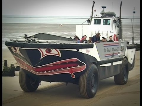 """Searles Sea Tours - """"Wizzy The Wash Monster"""" LARC XV """"The New Wash Monster"""" - Hunstanton"""