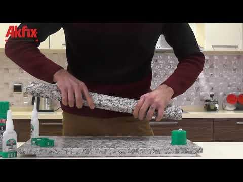 Двухкомпонентный экспресс клей AKFIX 710 для камня и мрамора