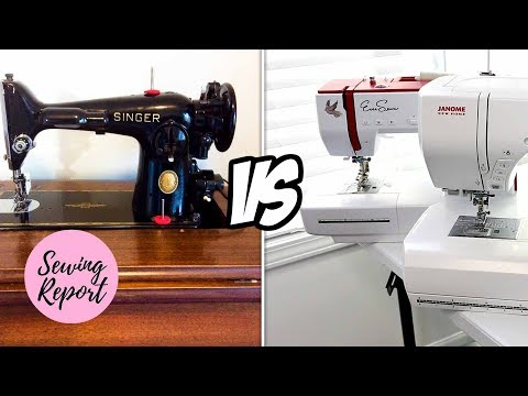 LIVE 🔴 Sewing Machines - Vintage vs. Modern | SEWING REPORT