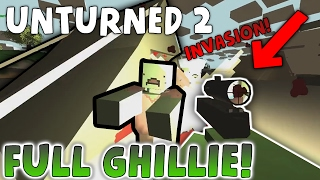 FULL GHILLIE ALREADY!! - Lets Play Unturned 2 #02 (Unturned 2.2.5 classic)