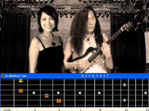 Take A Bow Guitar Lesson Fingerstyle Solo Chord Melody.avi - YouTube