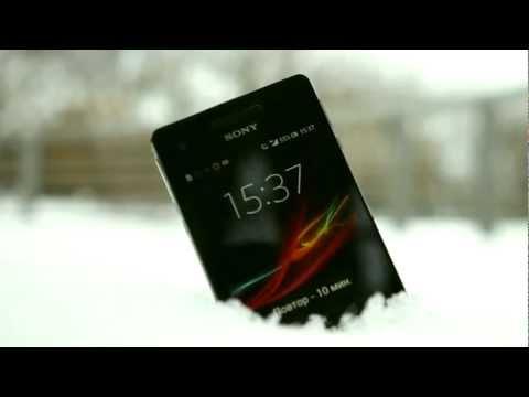 Обзор смартфона Sony Xperia V