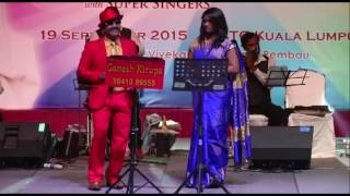 TMS SIVAKANTHAN & SS SONIA in MSV TRIBUTE by TVG MALAYSIA & GANESH KIRUPA Best Light Music Orchestra
