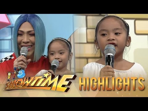 It's Showtime MiniMe 3: Mini Maja gets mad whenever Vice Ganda is called a horse