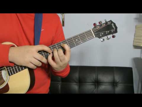 How to play a G Sharp Minor (Guitar Chord Tutorial!!)