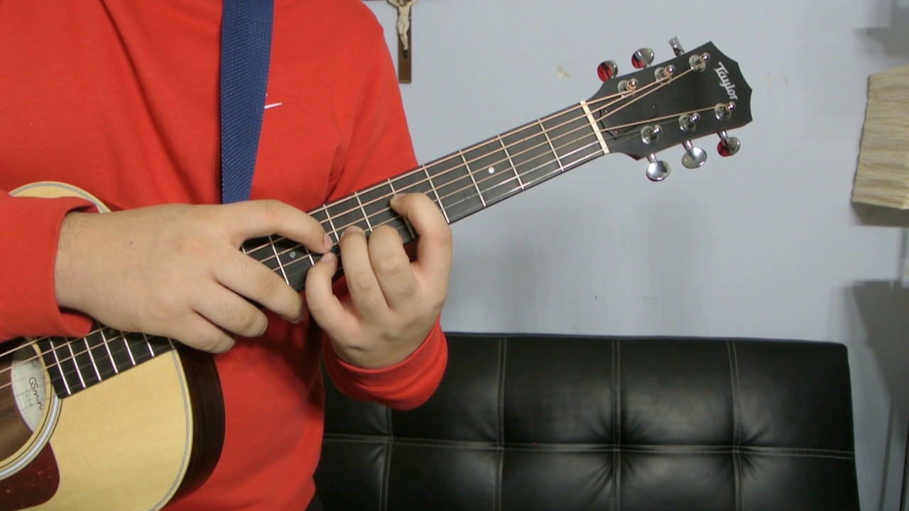 how to play a g sharp minor guitar chord tutorial youtube. Black Bedroom Furniture Sets. Home Design Ideas