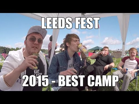 READING & LEEDS FESTIVAL 2015 - BEST CAMP