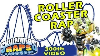 Skylanders Raps - Magna Charge rides a Roller Coaster (300th Video) Swap Force Song + Contest