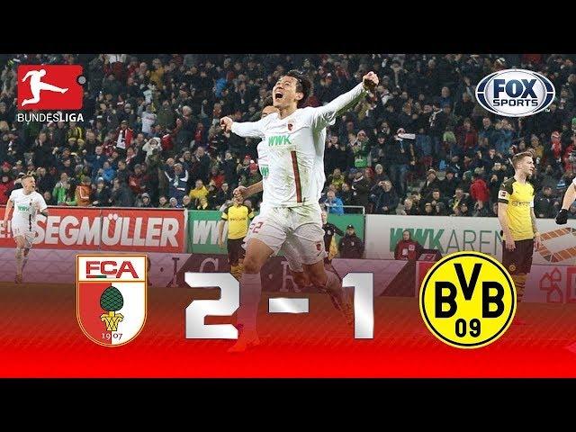 Melhores momentos de Augsburg 2x1 Borussia Dortmund, pela Bundesliga.
