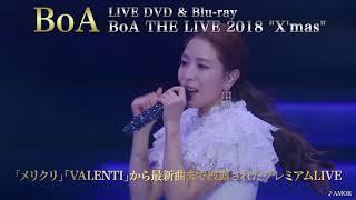 """BoA / LIVE DVD & Blu-ray『BoA THE LIVE 2018 """"X'mas""""』 Teaser映像(ダンスver.)"""