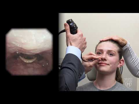 FEES Swallowing Study: Fiberoptic Endoscopic Evaluation Of A Swallowing