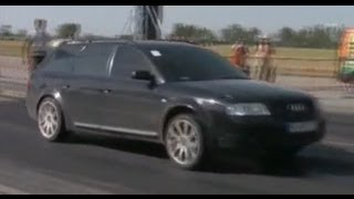 audi s6 vs audi a6 2 7 biturbo drag race