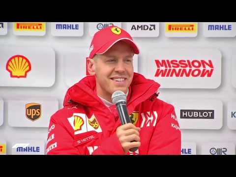 F1 2019 | Barcelona Test 1 - Sebastian Vettel Interview