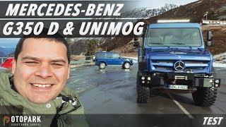 Mercedes-Benz G 350d ve Unimog U4023 için Avusturya'ya gittik | Doğan Kabak ile test ettik!