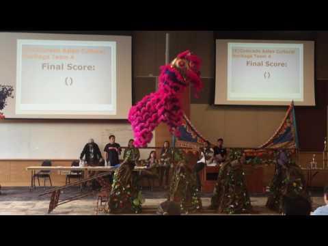 Colorado Asian Cultural Heritage Center Team A - Regis Lion Dance Competition 2016 [4/5 cut]