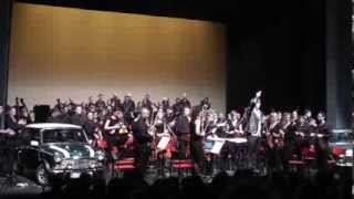 Dmitri Kourliandski: Emergency Survival Guide 2 for 2 automobiles and orchestra