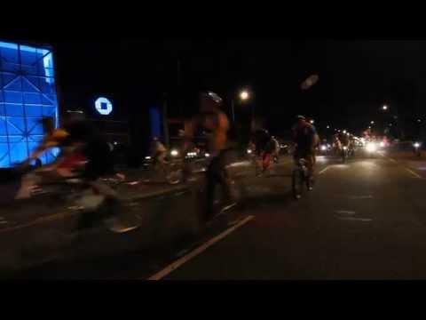 Wolfpack Hustle Marathon Crash Race 2015 Hustle Ride - Mile 13
