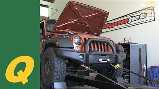 Dyno Results for Sprintex Supercharger for Jeep Wrangler JK Review