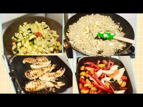 Almuerzo para Diabéticos pechuga de pollo con arroz integral pasó a paso