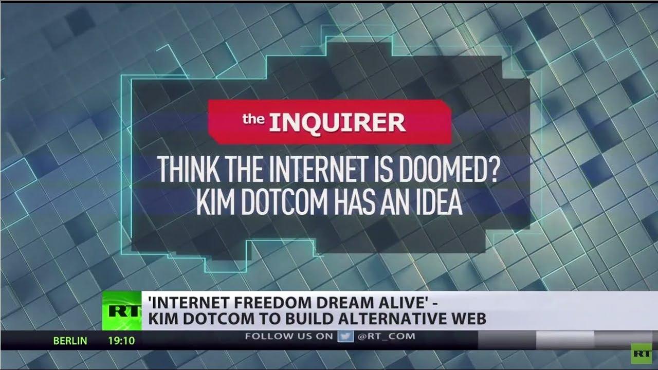 'Internet freedom dream alive' – Kim Dotcom to build alternative web
